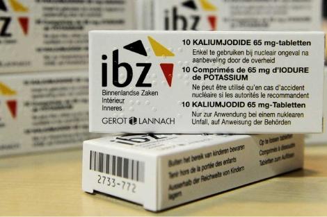 Cajas con pastillas de yoduro potásico.| Efe