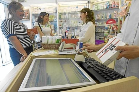 Compra de medicamentos con receta electrónica en una farmacia (País Vasco).   Mitxi