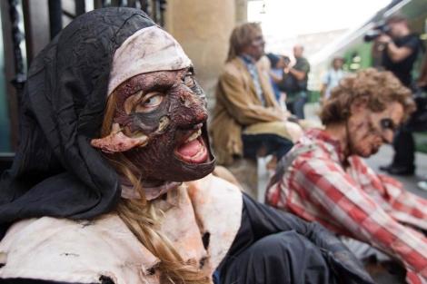 Los zombies como metáfora de las amenazas para la salud.   El Mundo