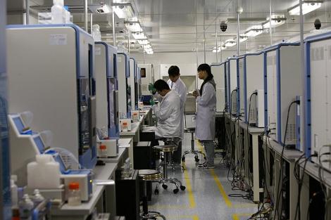 Sede del laboratorio chino donde se ha secuenciado el genoma de la bacteria.| Reuters