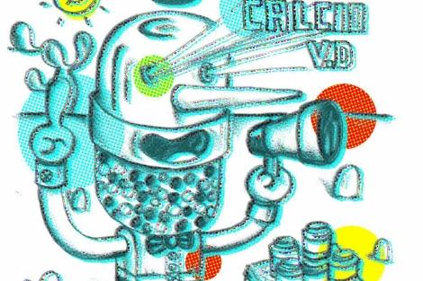 Ilustración sobre suplementos vitamínicos.   Bárbara Perdiguera