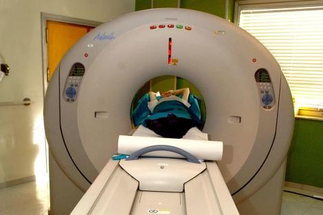 Imagen de un escáner en el Hospital de la Paz, Madrid. | Foto: EFE