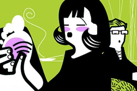 Una de las terapias complementarias más usadas es la reflexología. | Ilustración de El Mundo