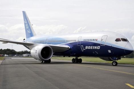 Un avión Boeing 787.   Efe
