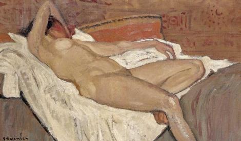 'Pequeño desnudo sobre una cama' de Steinlen ! El Mundo