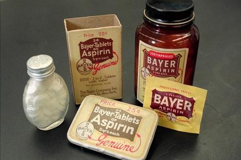 Viejos envases de Aspirina Bayer. | El Mundo