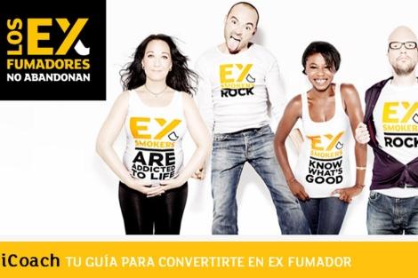 Imagen de la campaña en internet.