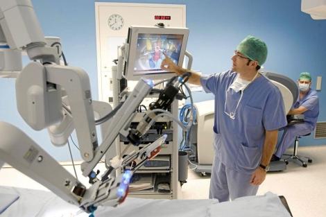 operación de próstata método da vinci español