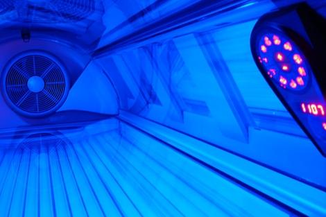 Cabina de rayos UVA. | Sxc