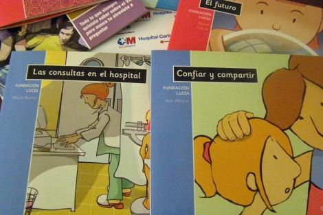 Material dirigido a los niños con VIH. | H. Carlos III