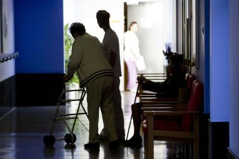 Un anciano en una residencia.| Iñaki Andrés