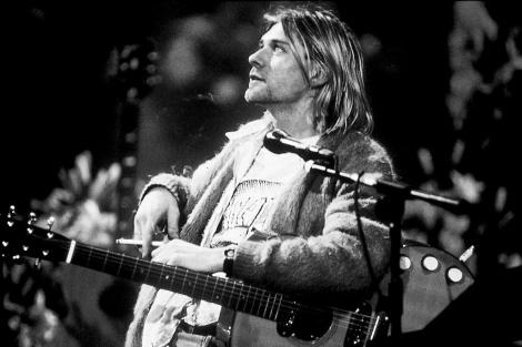 Kurt Cobain en el descanso de un concierto en EEUU. | El Mundo