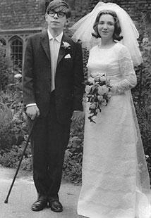 El científico británico el día de su boda en 1965. | El Mundo