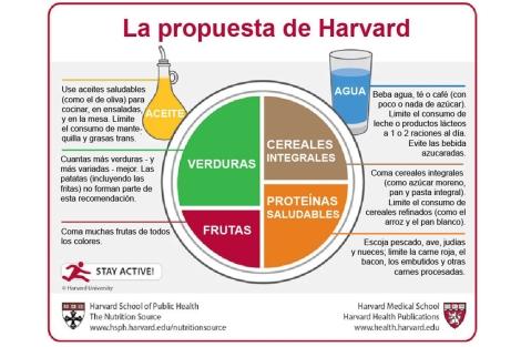 Nuevas recomendaciones sobre la alimentación. | Harvard Medical School