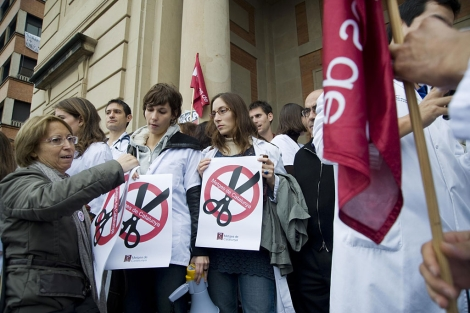 Huelga de médicos del pasado mes de noviembre. | Santi Cogolludo
