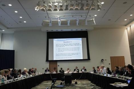 La reunión del comité ha durado once horas.| Chip Somodevilla | Afp