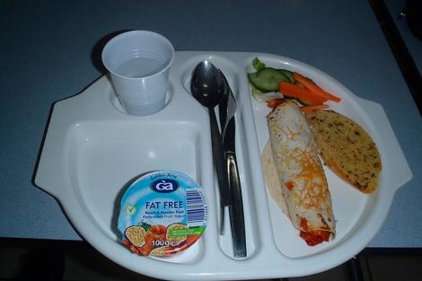 Uno de los 'menús saludables' de Martha Payne.| Neverseconds