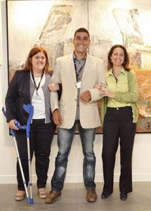 Mª Paz Giambastiani, Diego Velazquez y Mª Jose Aguilera (pulse para ampliar imagen).| Sergio Enriquez-Nistal