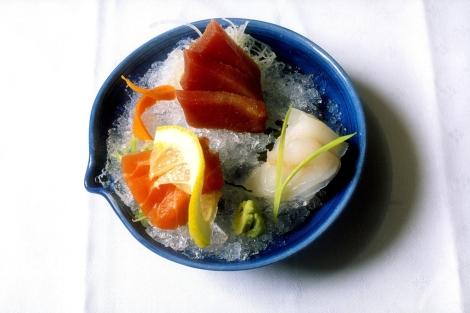 Sashimi con hielo picado. | Cordon Press