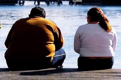 La obesidad afecta a un 35% de la población estadounidense.   El Mundo