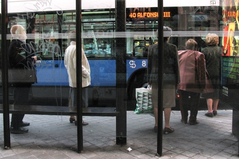 Grace se ponía nerviosa si el autobús llegaba tarde. | Jaime Villanueva