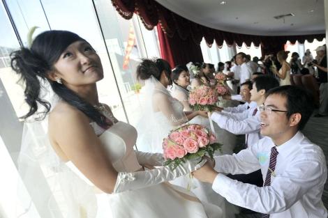 El 14% de la población china tiene problemas para concebir un hijo.   Afp