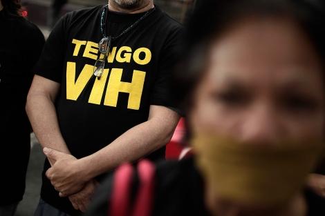 Una manifestación de activistas en San José (Costa Rica).| EFE | Jeffrey Arguedas