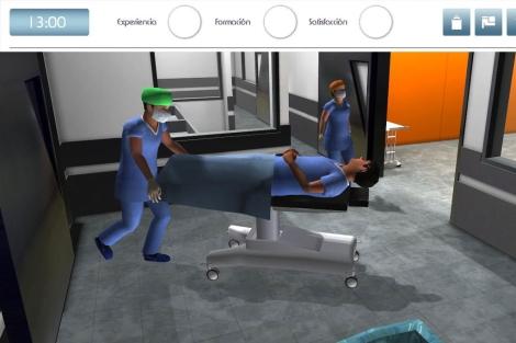 Imagen del videojuego del H. Hospital Galdakao-Usansolo