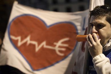 Manifestación de trabajadores de la Sanidad. | Alberto Di Lolli