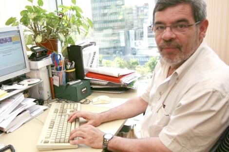 Albert Ledesma durante un encuentro digital con 'Diaro Médico'.| Rafa M. Marín