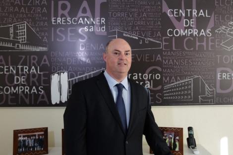 Alberto de Rosa, director general de Ribera Salud