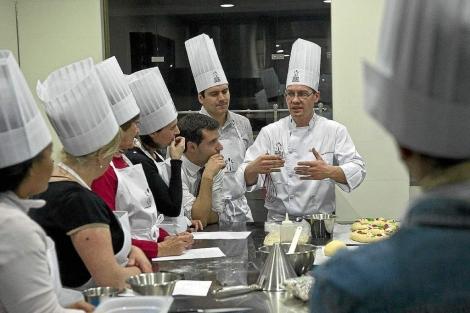 Cursos de cocina en la Escuela Internacional de Cocina Fernando Pérez. | M.A. Santos