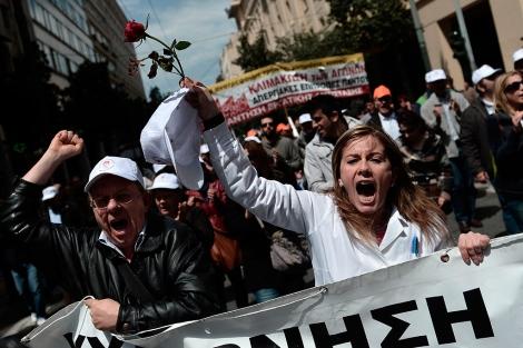 Recortes salud Grecia