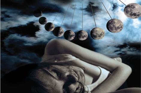 Mucha gente se queja de dormir peor las noches de luna llena. | Current Biology, Cajochen et al.