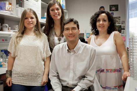 En la foto, los responsables de la investigación española. | CNIO