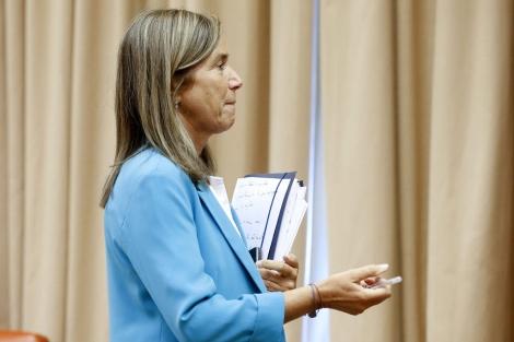 Ana Mato ha anunciado la puesta en marcha de la tarjeta sanitaria única.   Efe
