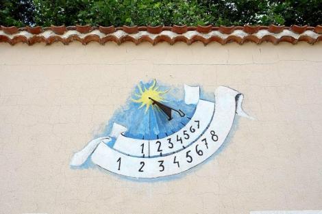 Reloj de sol. | J.M. Lostau