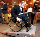 Aceras adaptadas para sillas de ruedas