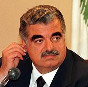 El fallecido Rafik Hariri. (Foto: AP)
