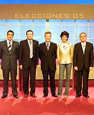 Zapatero, durante su mitin en San Sebastián. (Foto: REUTERS)