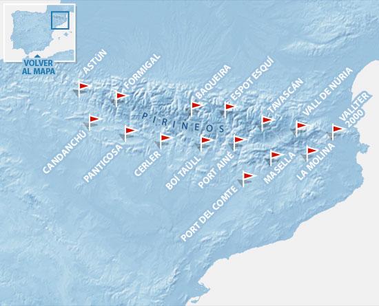 Estaciones De Esqui Mapa.Estaciones De Esqui Pirineos Elmundo Es