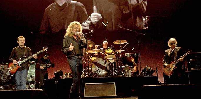 La mítica banda británica, Led Zeppelin.