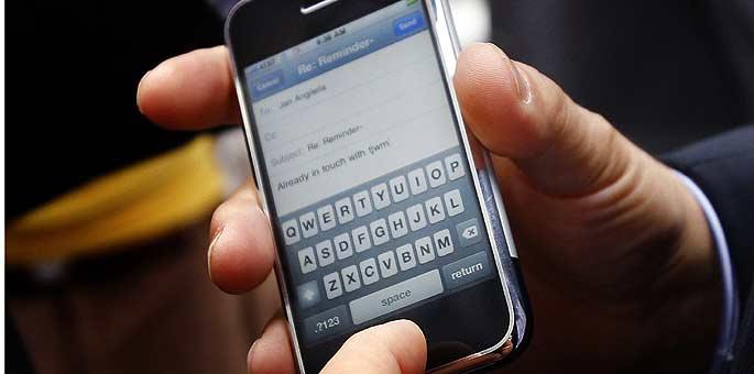 El iPhone, de Apple, días antes de su lanzamiento en EEUU.