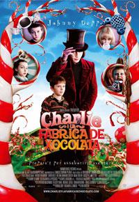 Cartel de 'Charlie y la fábrica de chocolate'
