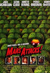 Cartel de 'Mars Attacks'