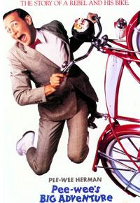 Caltel de 'La gran aventura de Pee Wee'