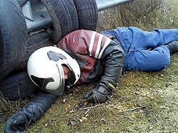 Diseñan un localizador de motoristas accidentados