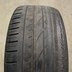 Los neumáticos se apuran más debido a la crisis económica