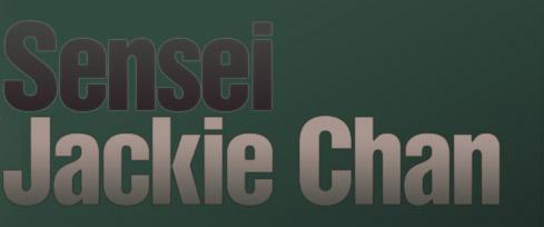 Sensei Jackie Chan