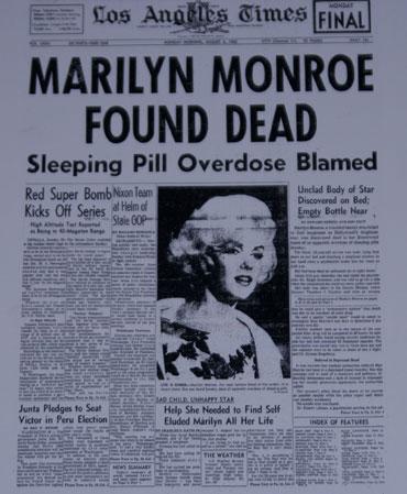 La Muerte De Marilyn Monroe Especiales Elmundoes